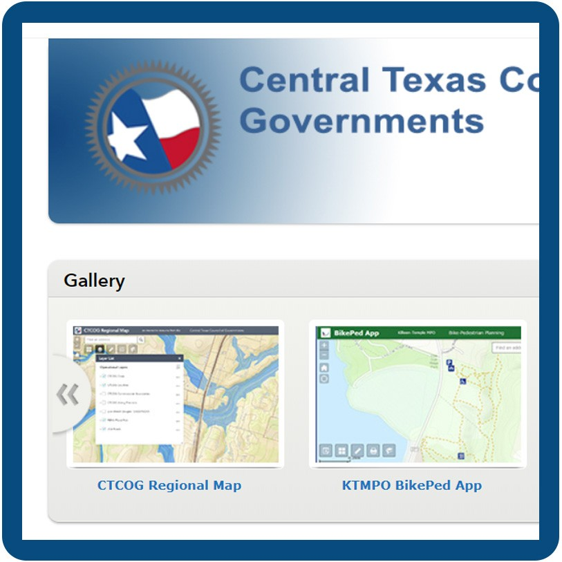 GIS & Mapping • Central Texas Council of Governments