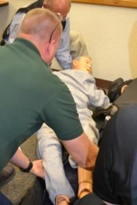 Mass Fatality Response Training Exercise