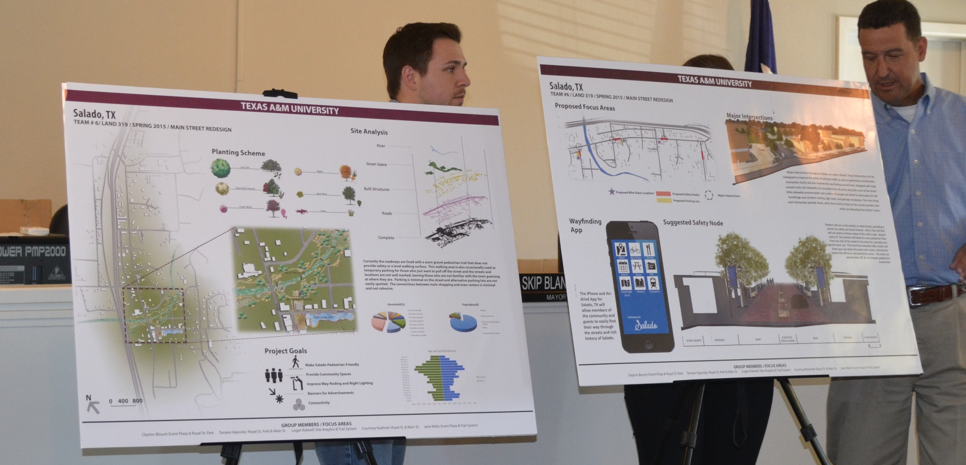 The Village of Salado Turns to Texas A&M Landscape Architecture ...