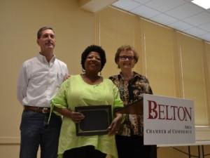 Jerry Haisler, Sandra Russell, and Susan Kamas
