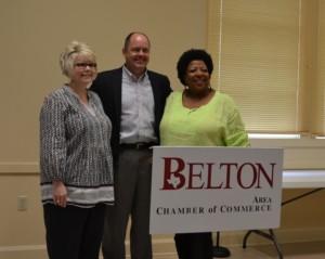 Stephanie O'Banion, Robert Jones, and Sandra Russell