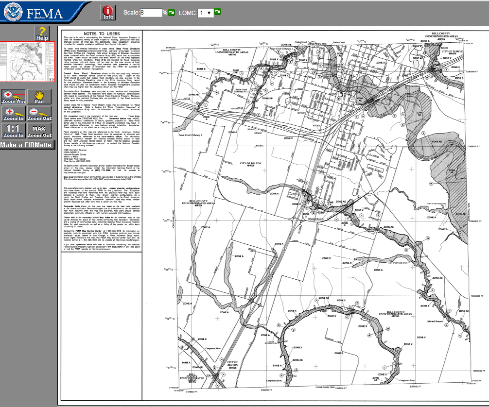 FEMA Flood Maps Online Central Texas Council Of Governments - Fema flood maps texas