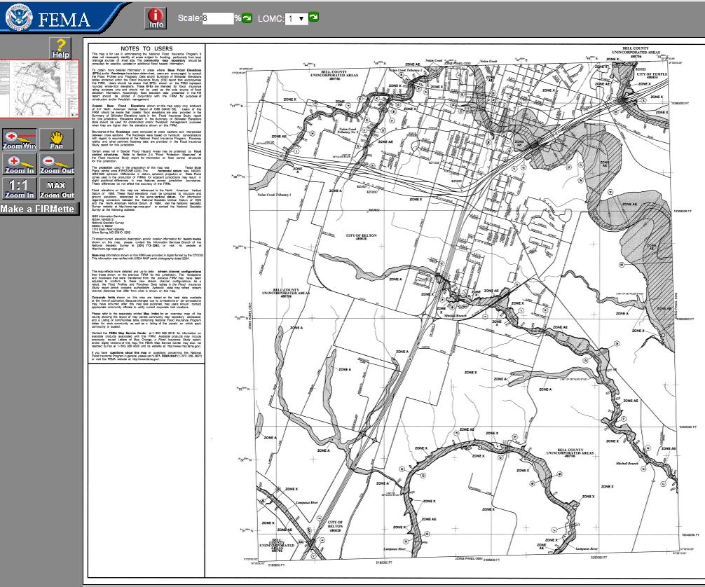 Fema Firm Maps FEMA Flood maps online • Central Texas Council of Governments Fema Firm Maps