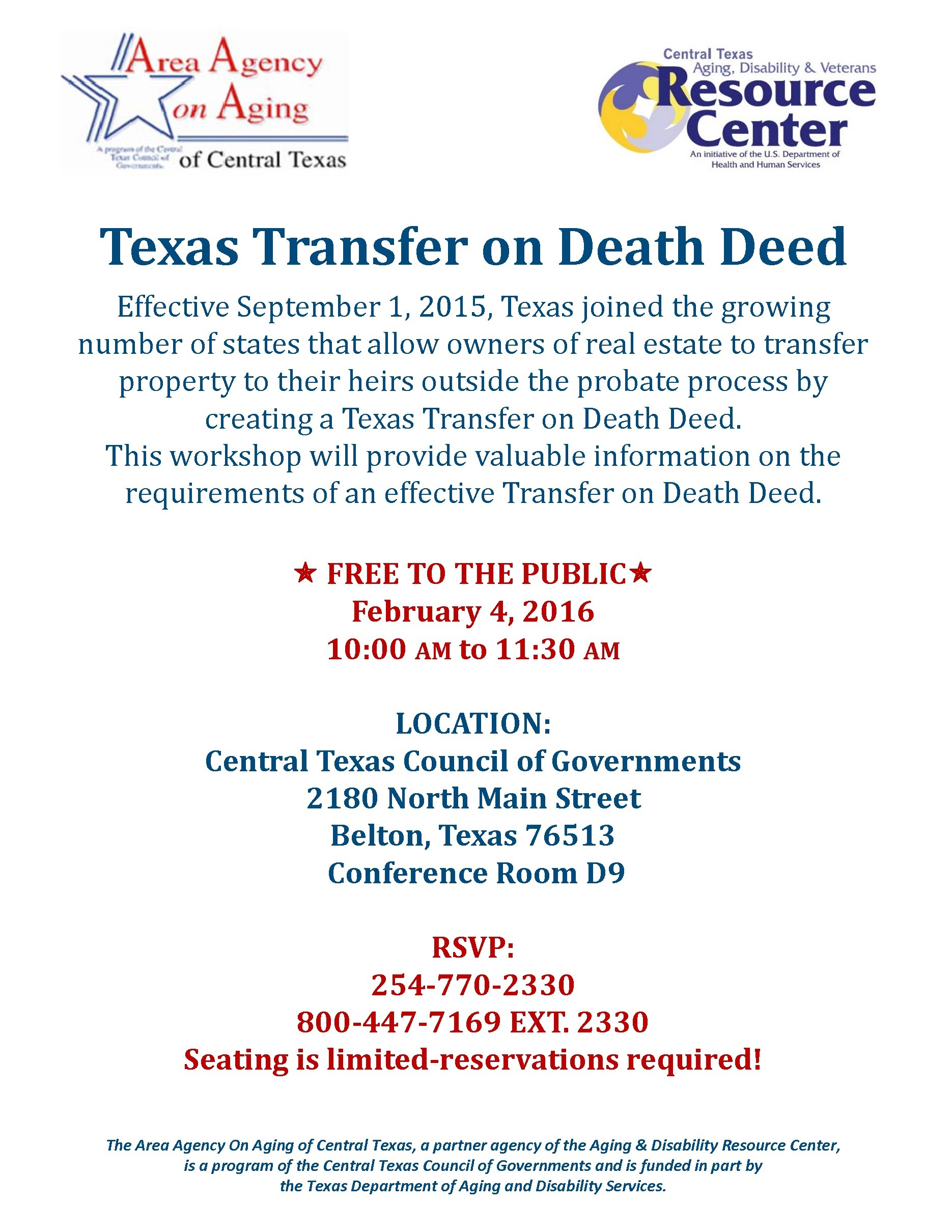 Central Texas Council of Governments – What Will Happen to Your ...