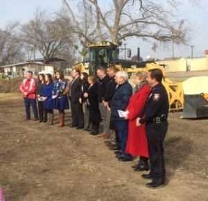 Belton PD Groundbreaking 1