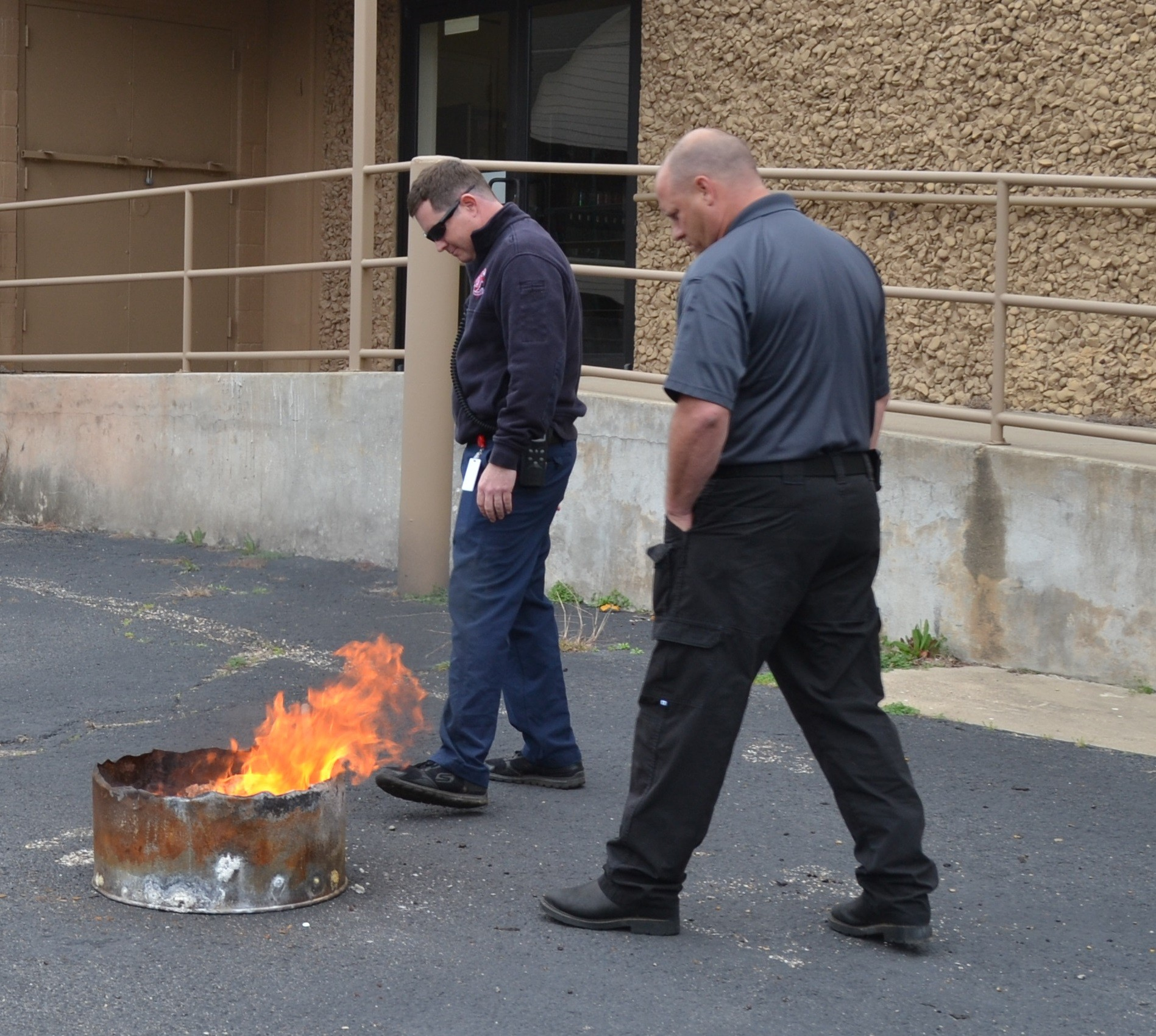 Firefighters know how to extinguish a fire