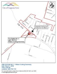 FD2 Ribbon Cutting Map