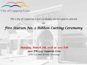 FD2 Ribbon Cutting and Dedication Invitation