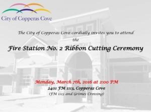 FD2 Ribbon Cutting and Dedication Invitation