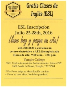 ESL in Spanish