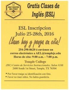 ESL in Spanish