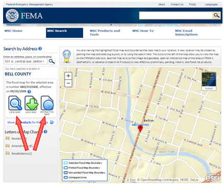 Texas Flood Zone Map FEMA Flood maps online • Central Texas Council of Governments