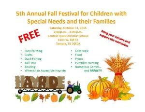 Fall Festival Special Needs