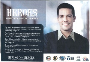 Hiring our Heroes Flyer