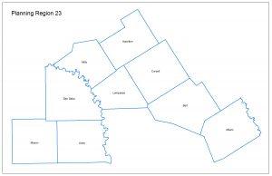 Planning Region 23 Map